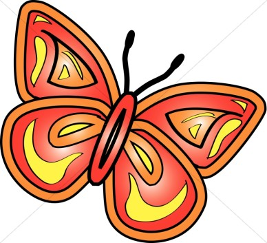 Spring Butterfly Clipart.
