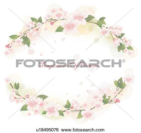 Clip Art of cards, flowers, card, Carnation, Floral background.