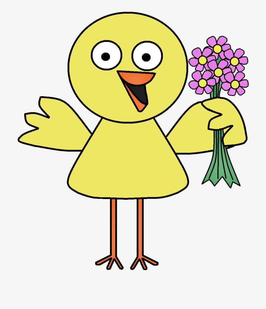 Clipart Bird Spring.