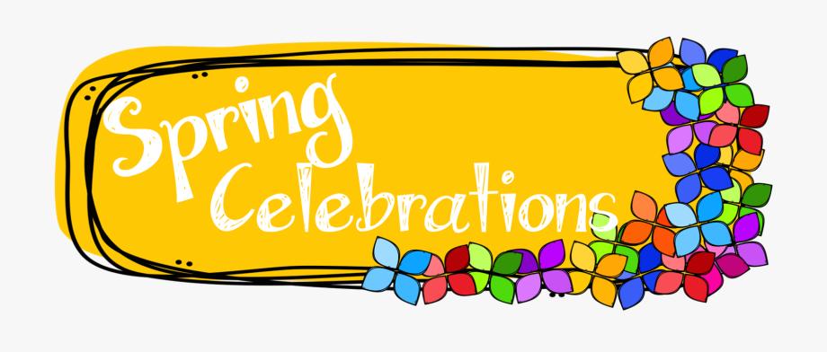 Spring Clipart Celebration.