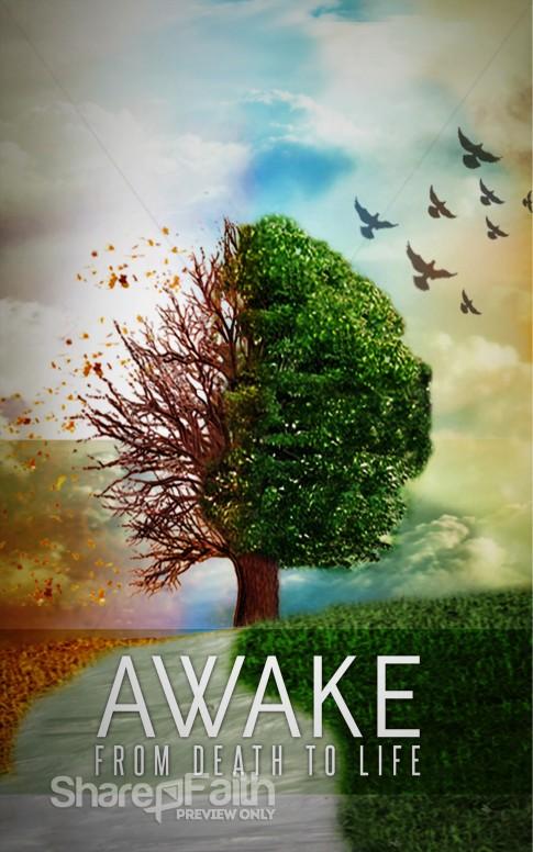 Awake Church Bulletin Cover.