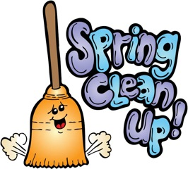 Spring Clean Up.