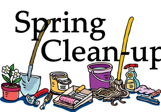 Spring Clean Up Day.