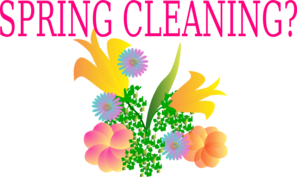 Spring Cleaning? Clip Art at Clker.com.