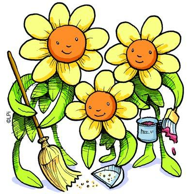 71+ Spring Cleaning Clip Art.