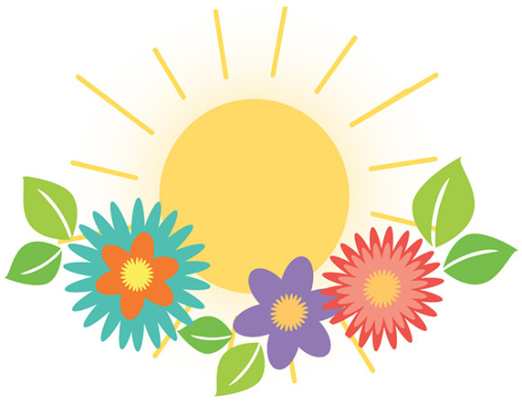 Think spring clip art clipart 2.