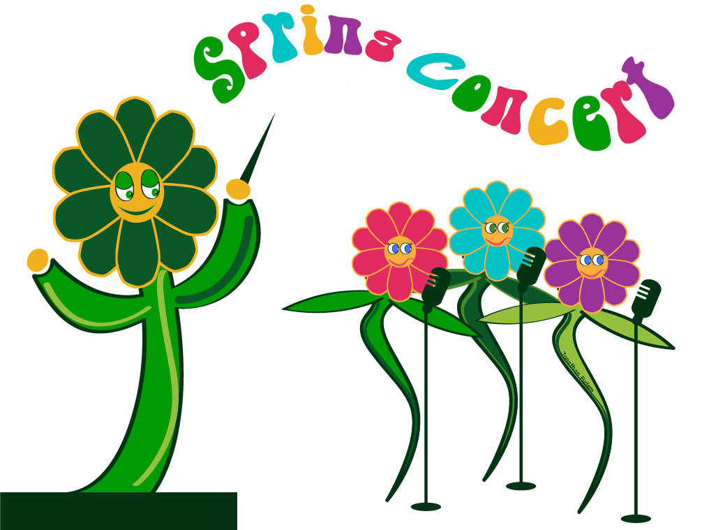 Collection of Spring clipart.