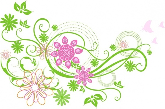Spring flowers clip art free vector download free 3.