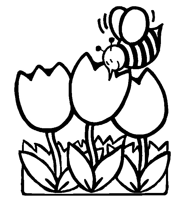 Free Spring Season Clipart Black And White, Download Free.