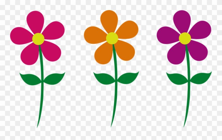 Images Of Cartoon Flowers.
