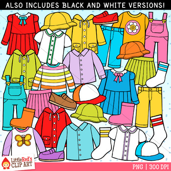 Spring Clothing Worksheets & Teaching Resources.
