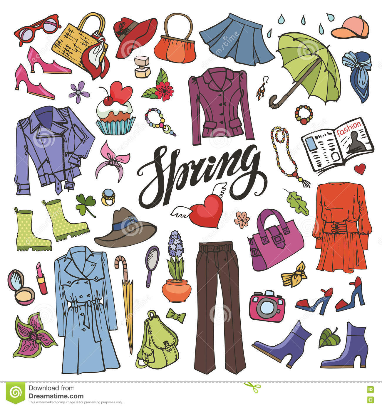 38 Engaging What To Wear Duringspring Clipart.