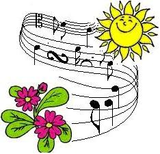 Spring concert clipart.