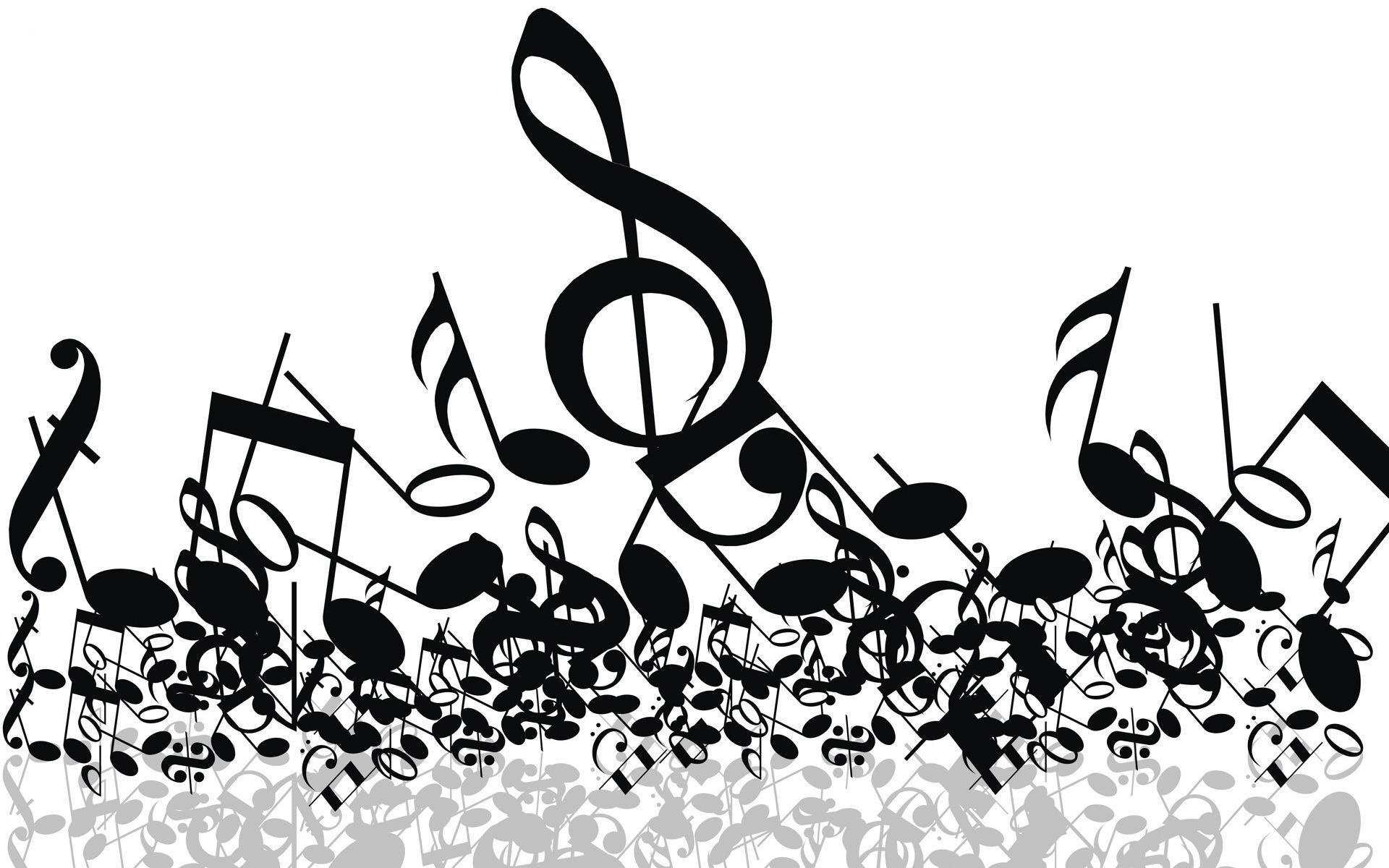 Free spring concert clipart band image.