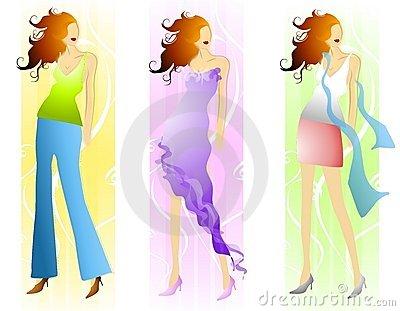 Skirt Stock Illustrations.