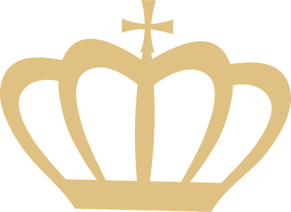 Free illustration: Crown, Silhouette, Gold, Clip Art.