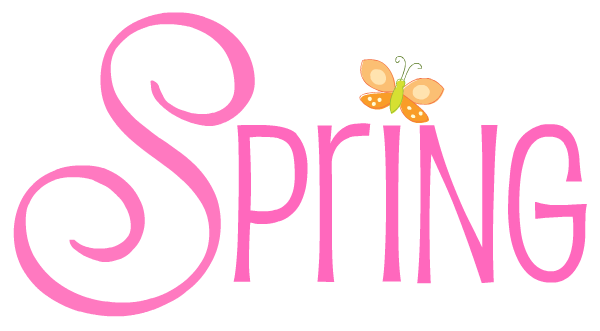 Spring day cartoons clipart.