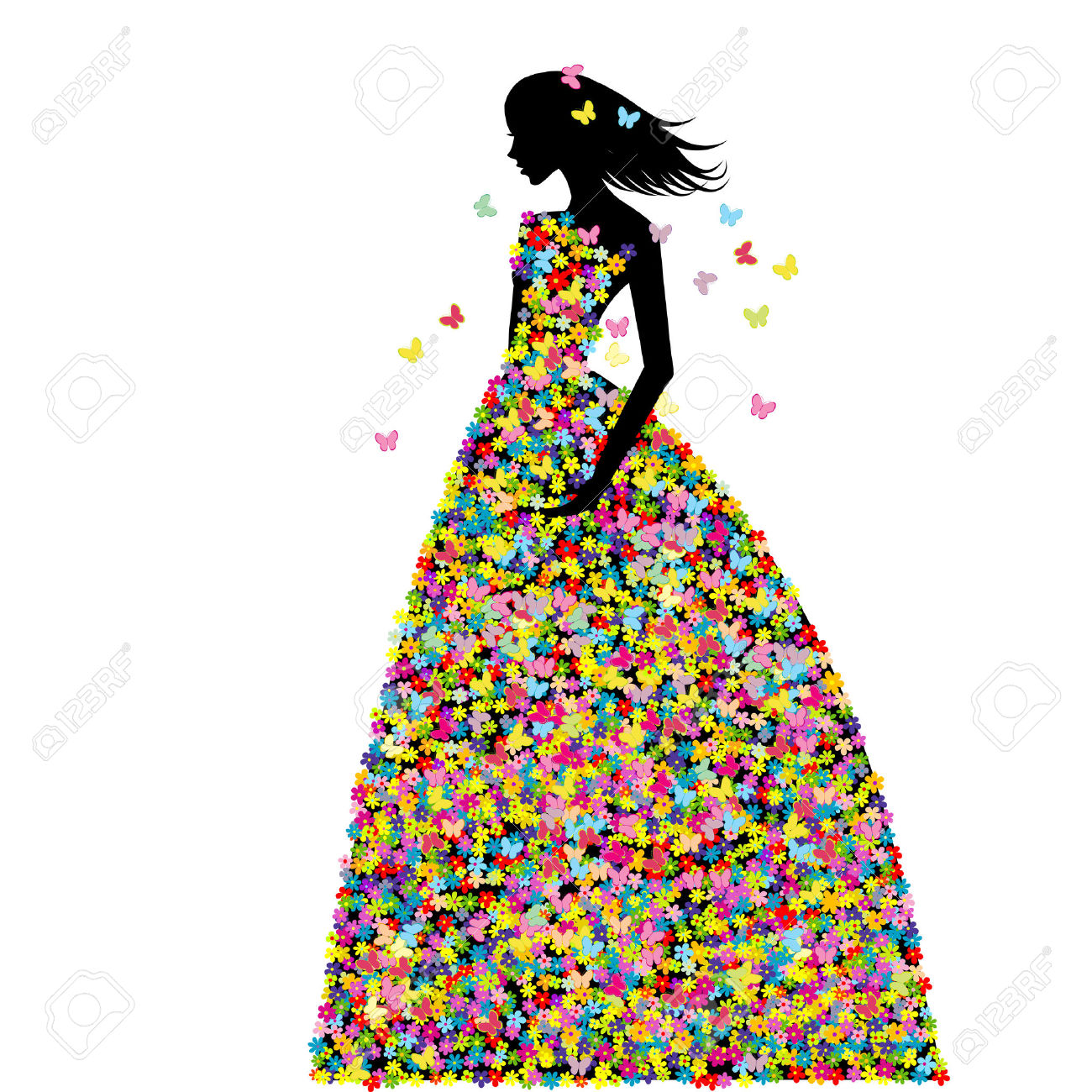 5,768 Spring Dress Stock Illustrations, Cliparts And Royalty Free.