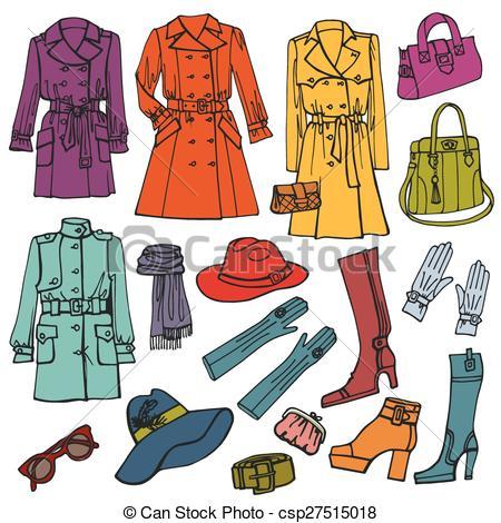 Spring Fashion Clipart (32+).