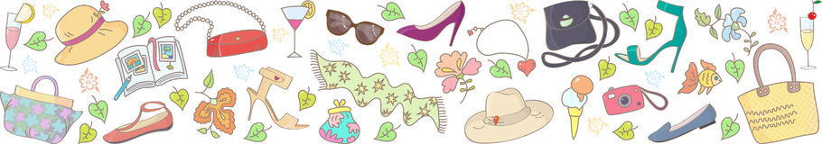 Spring Summer Season Background Royalty Free Stock Photography.
