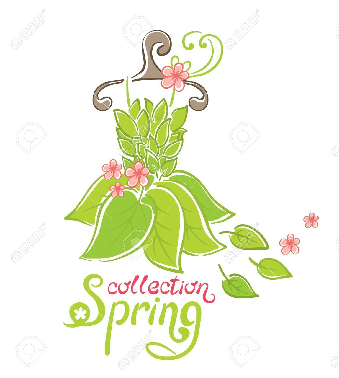 spring fashion clipart clipground