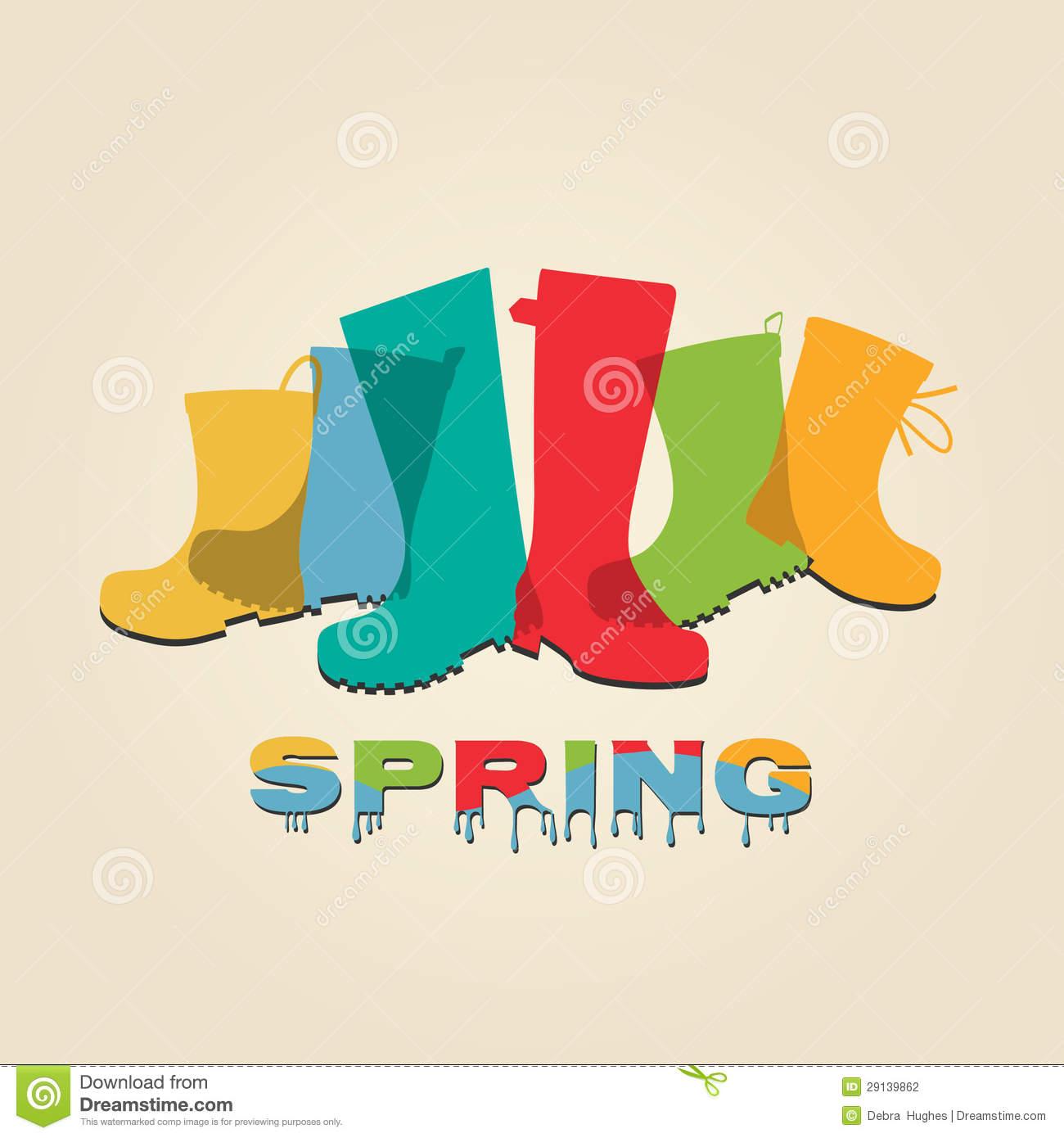 Spring Fashion Clipart.