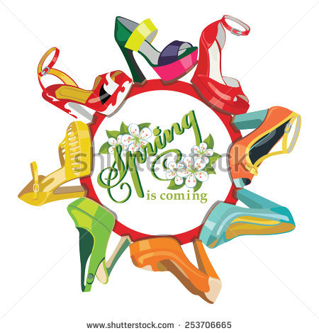 Spring Fashion Stock Vectors, Images & Vector Art.