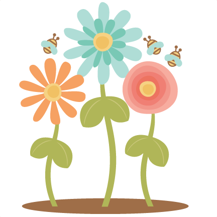 Spring Flowers Clipart Png.