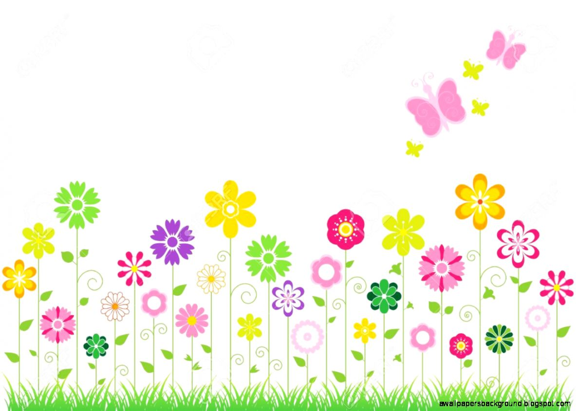 73+ Clipart Spring Flowers.