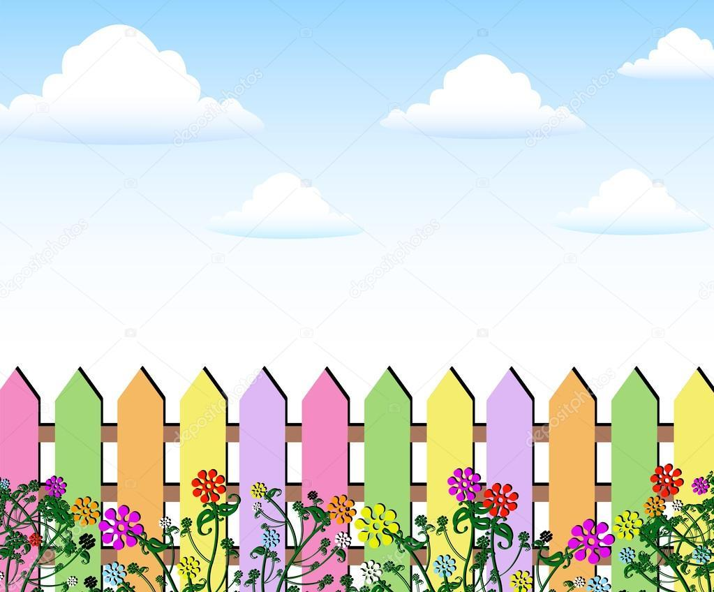 Spring flowers clipart background 6 » Clipart Portal.