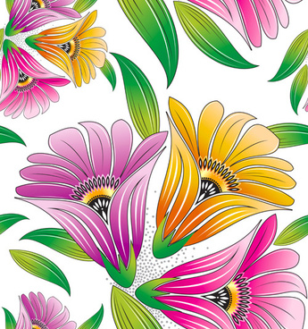 Spring flower graphics free vector download (10,516 Free vector.