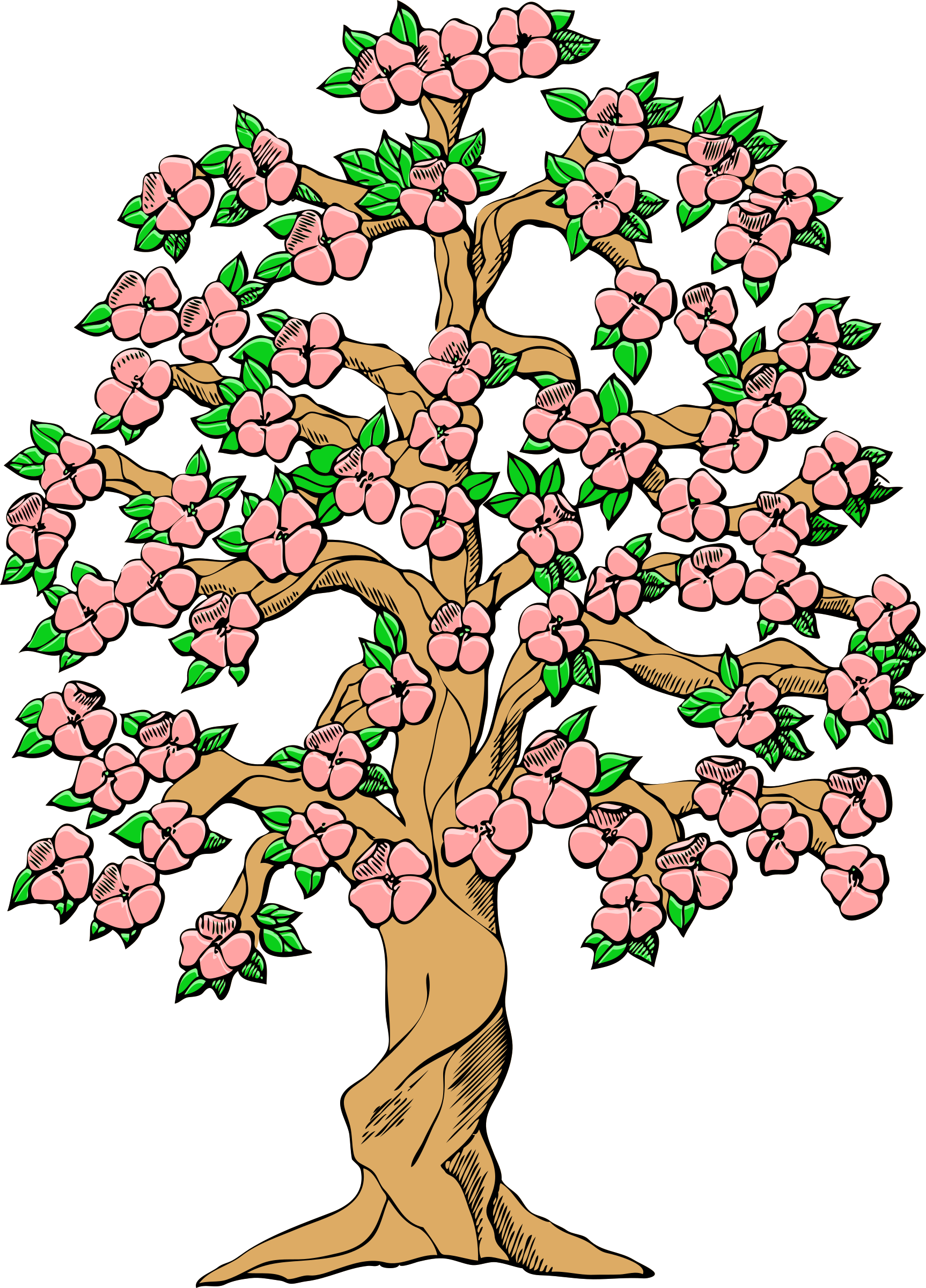 Spring Clip Art: Spring Flowers Shrub Clipart 20 Free Cliparts