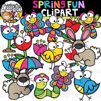 Spring Fun Clipart {Spring Clipart}.