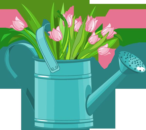 Spring Garden Clipart.