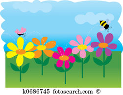 Spring garden Clipart and Stock Illustrations. 22,371 spring.