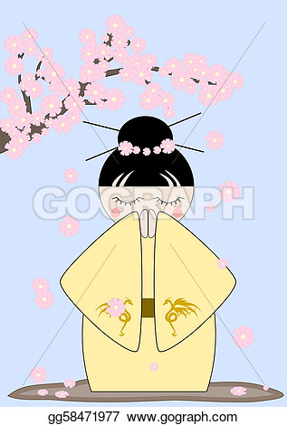 Japan Spring Clipart.