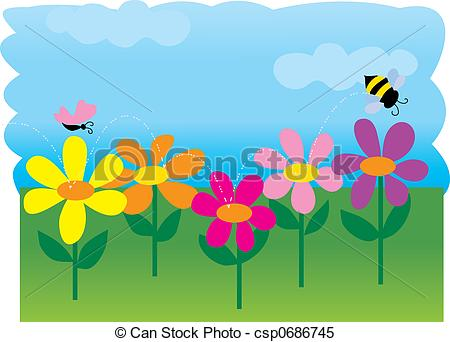 Bee garden Stock Illustration Images. 2,857 Bee garden.