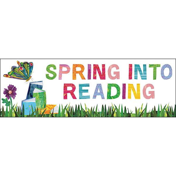 Spring into reading clipart 5 » Clipart Portal.
