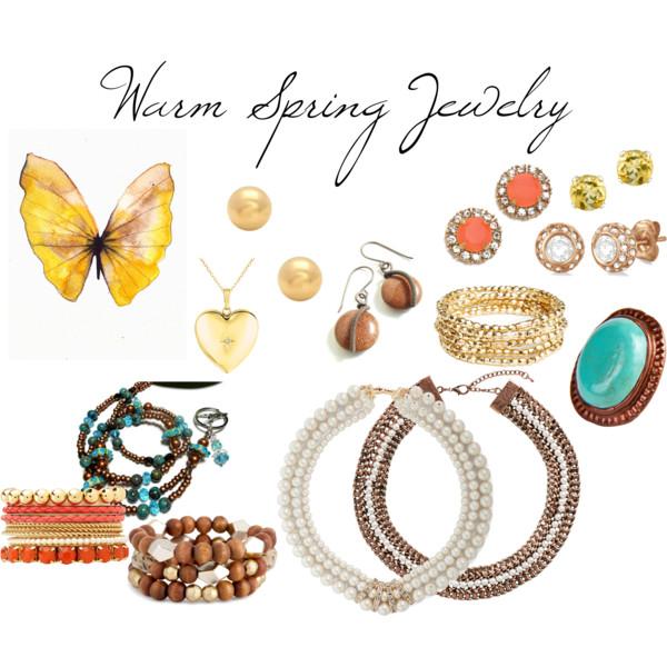 Warm Spring Jewelry.