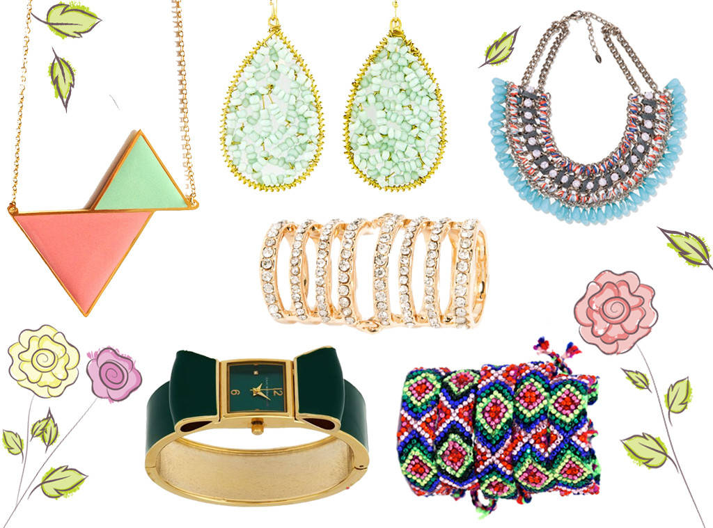 Spring Jewelry $35 & Under: BaubleBar Rings, Zara Necklaces, C.