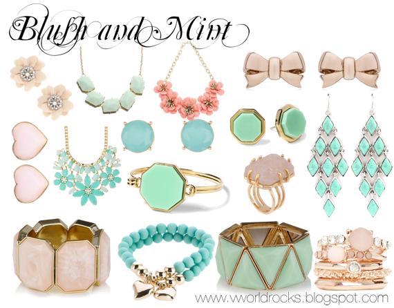 V World Rocks: Spring Jewelry.