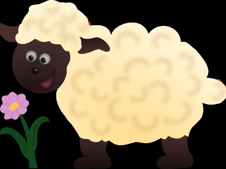 Spring Clipart Lamb.
