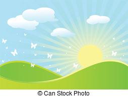 Spring landscape Vector Clip Art EPS Images. 22,463 Spring.