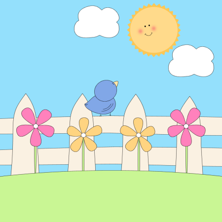 Spring nature clipart.