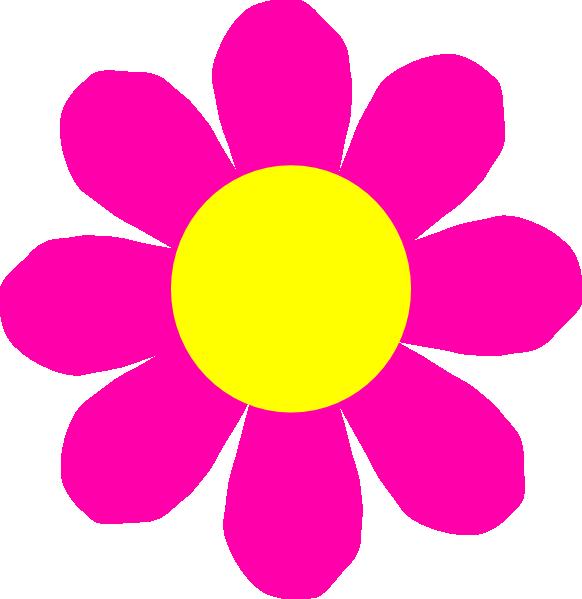 Pink Flower Clip Art at Clker.com.