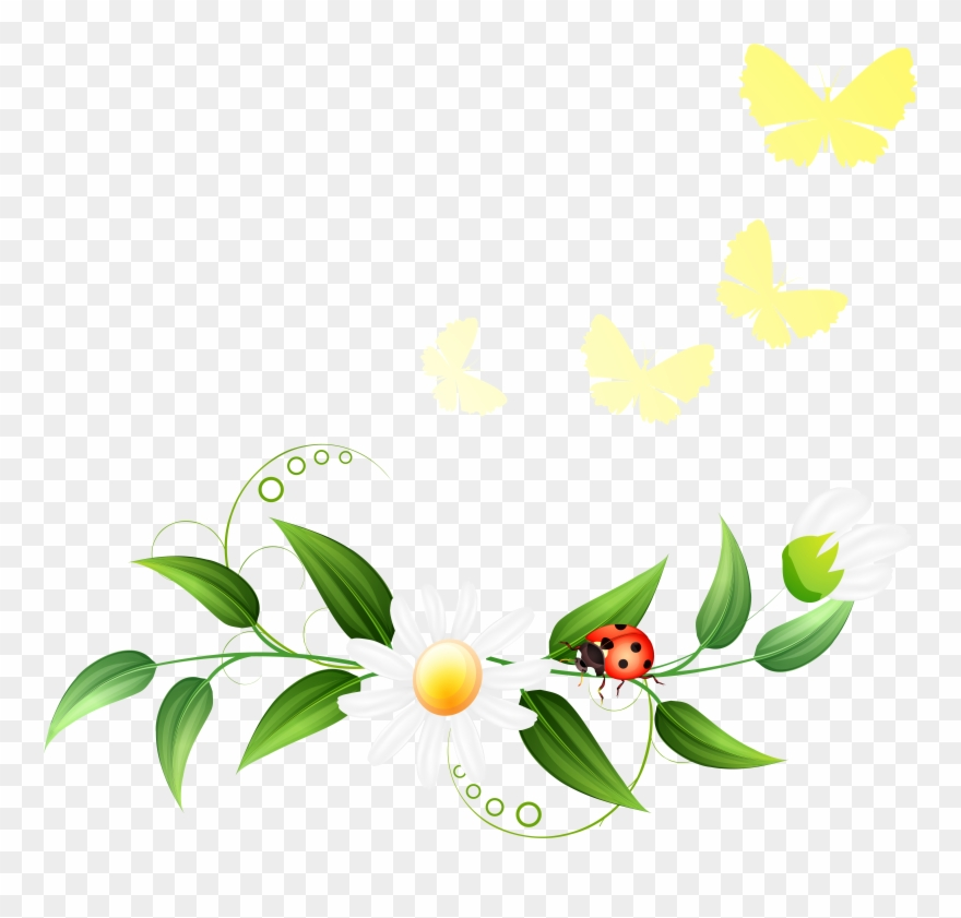 Spring Clipart Decoration.