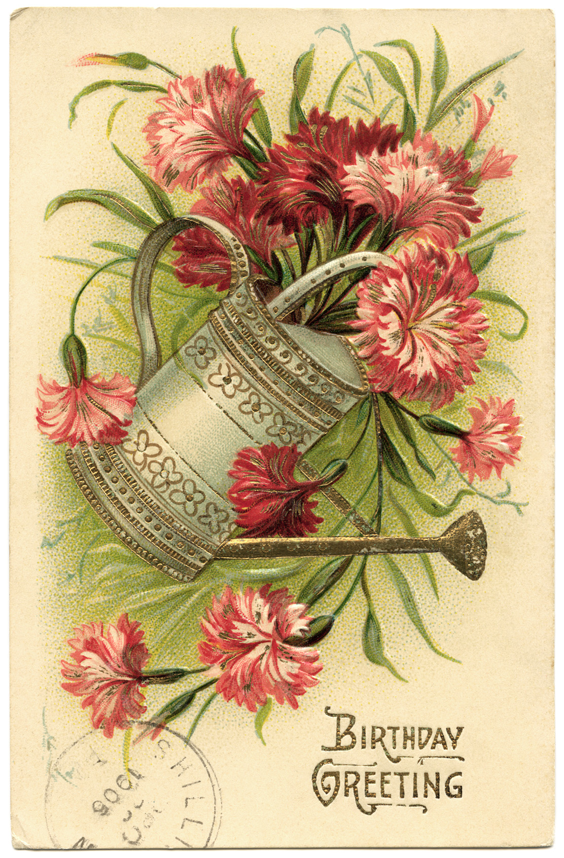 Victorian Spring Clipart.