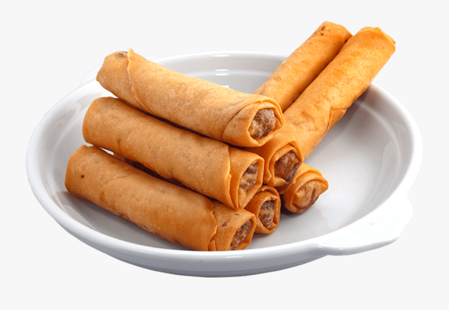 Transparent Spring Roll Clipart.