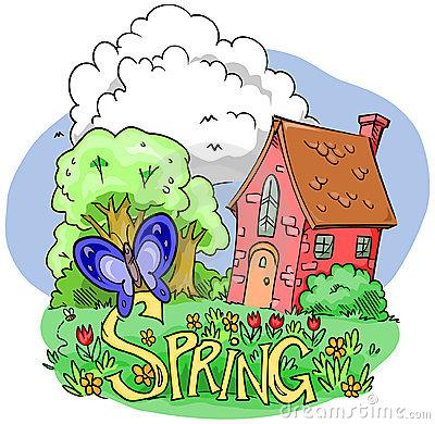 Spring Season Clipart.