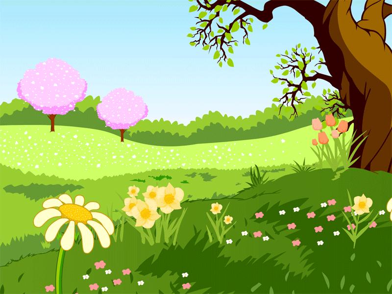 Clipart spring season.